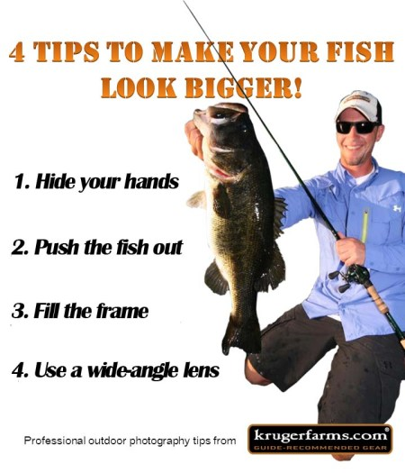 4 Tips To Make Your Fish Look Bigger