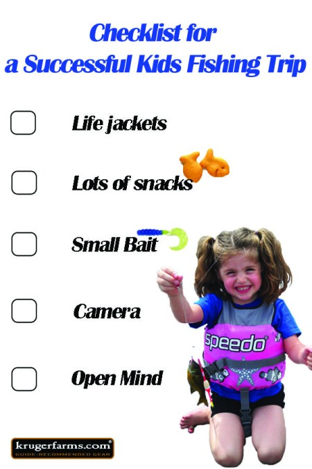 Checklist for Kids Fishing Trip